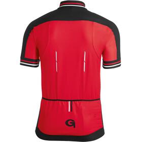 Gonso Reschen - Maillot manches courtes Homme - rouge/noir